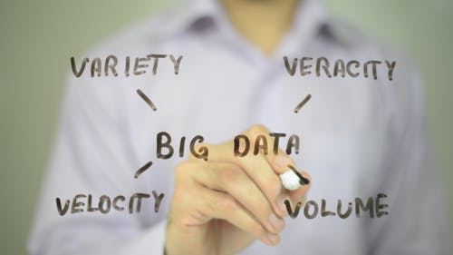 Big Data , Clip Art Illustration