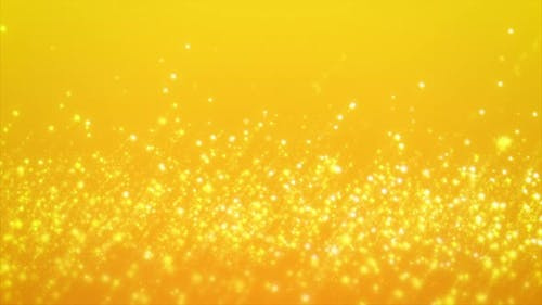 Abstract Motion Background Shining Gold Stars