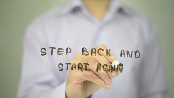 Thumbnail for Step Back and Start Again