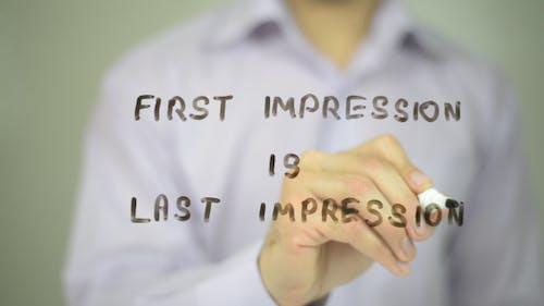 First Impression is Last Impression