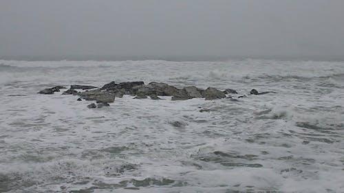 Heavy Snowfall and Heavy Seas