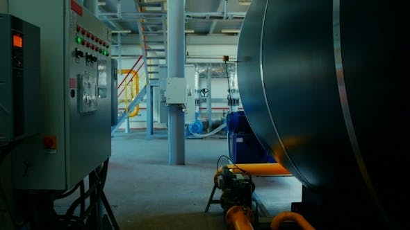 Thumbnail for Moderne Kesselraum-Ausrüstung für Heizsystem.