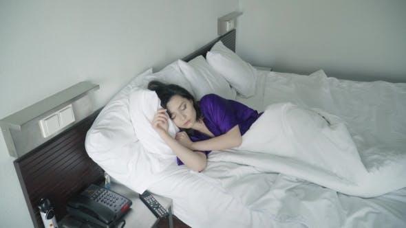 Thumbnail for Restless Dreams of Sleeping Woman
