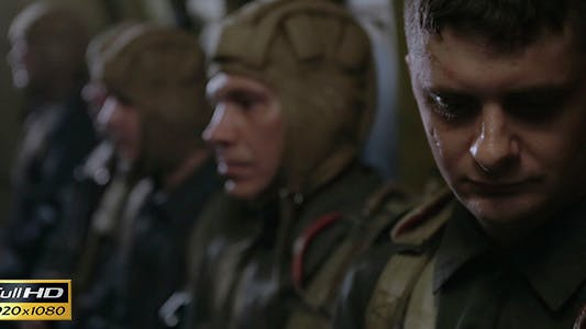 Thumbnail for The Soldiers Are Flying in an Airplane