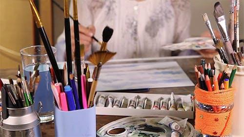 Künstlermalerei
