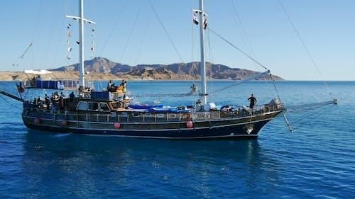 Sailboat. Red Sea, Egypt