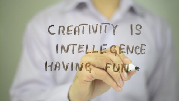 Thumbnail for Creativity is Intelligence Having Fun