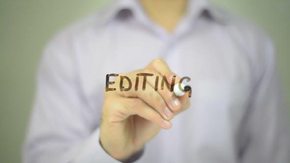 Thumbnail for Editing