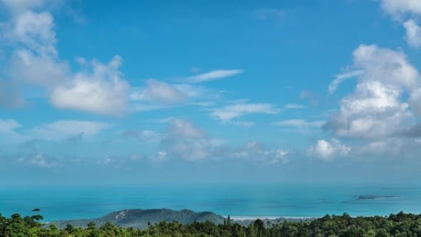 Thumbnail for Bird Eye View Of Koh Samui Island, Thailand