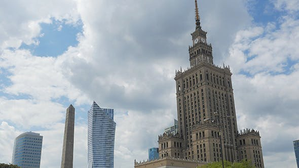 Thumbnail for Stalin Building Culture Science Palace Warsaw Poland