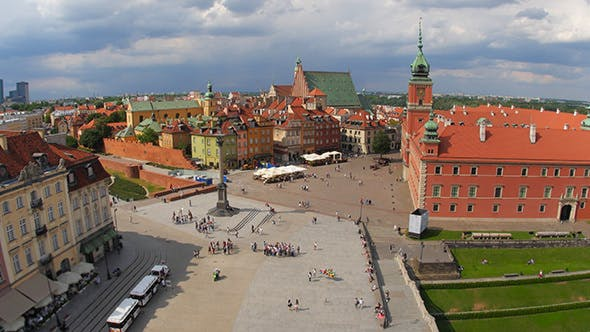 Thumbnail for View of Warsaw Old Town Square, Poland