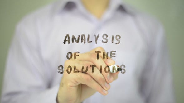 Cover Image for Analysis of the Solutions