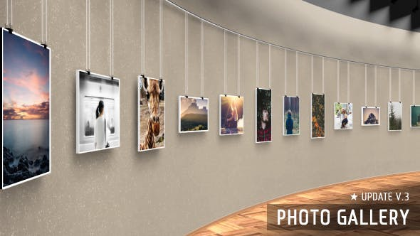 Thumbnail for Realistic 3D Photo Gallery