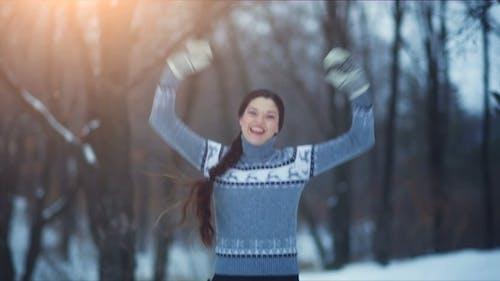 Woman Rejoices