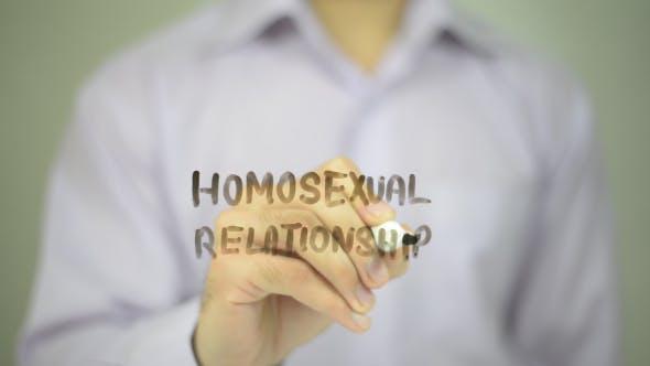 Homosexual Relationship