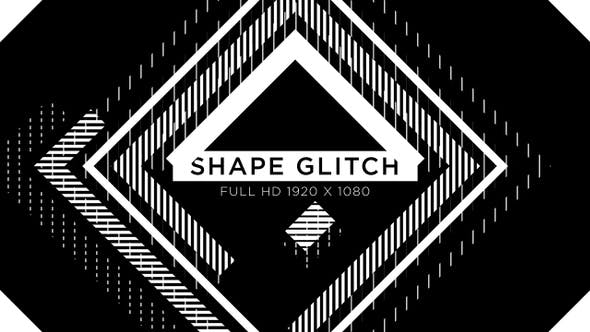Thumbnail for Shape Glitch VJ Loops Background