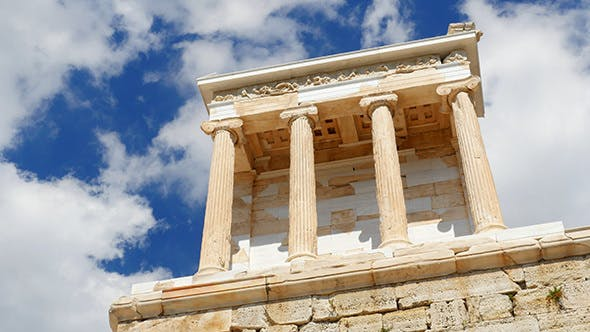 Thumbnail for Travel View of Acropolis in Athens, Greece