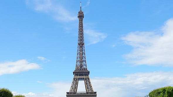 Thumbnail for View of Eiffel Tower, Paris, France