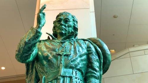 The Statue of Eusebio Francisco Kino, S.J. at the United States Capitol Building, Washington DC, USA
