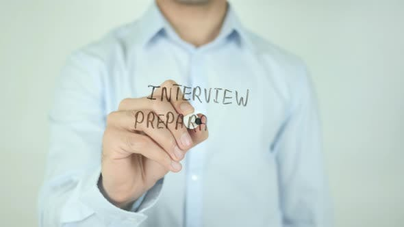 Thumbnail for Interview Preparation, Writing On Screen