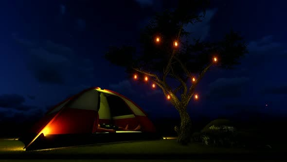Thumbnail for Night Tent Camp