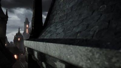 Dark Fantasy Background Animation 4