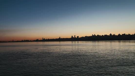 Thumbnail for New York City Skyline Sunrise 1B