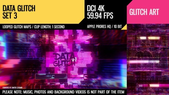 Thumbnail for Data Glitch (4K Set 3)