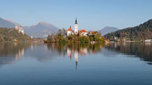 Hyperlapse of Lake Bled, Slovenia