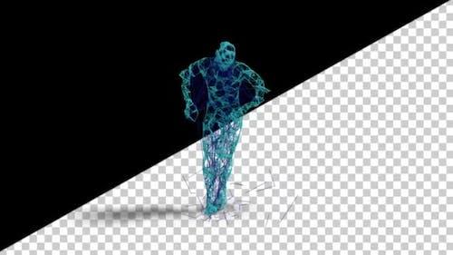Dancing Plexus Man