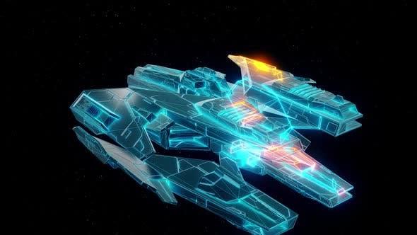 Thumbnail for Sci Fi Cosmic Fighter Hud Hologram Hd