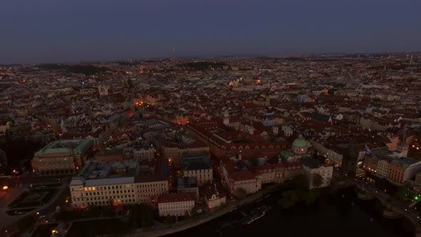 Thumbnail for Aerial View of Old Center of Prague, Czech Republic