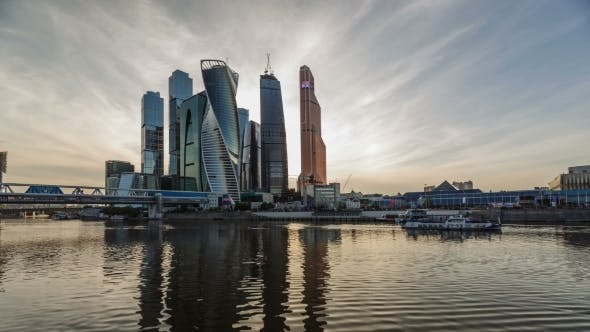 Thumbnail for Business Center Moscow City Skyscrapers