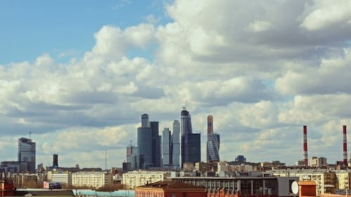 Moscow International Business Center Skyscrapers