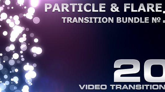 Cover Image for Particle & Flare Transition Bundle - 1
