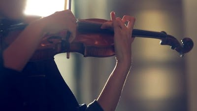She Plays The Violin
