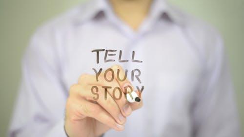 Erzählen Sie Ihre Geschichte