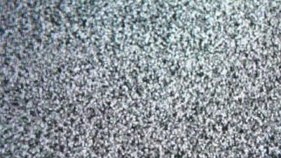 Static Noise of Flickering Detuned TV