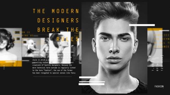 Promo de la Revista de Moda