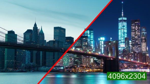 Thumbnail for Manhattan and the Brooklyn Bridge