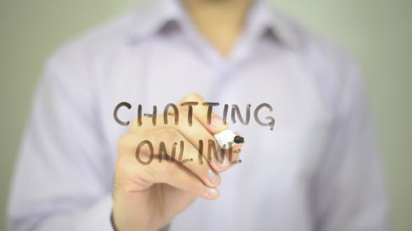 Cover Image for Chatting Online
