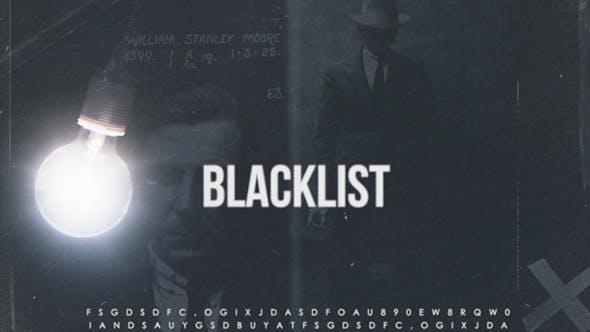 Thumbnail for Blacklist