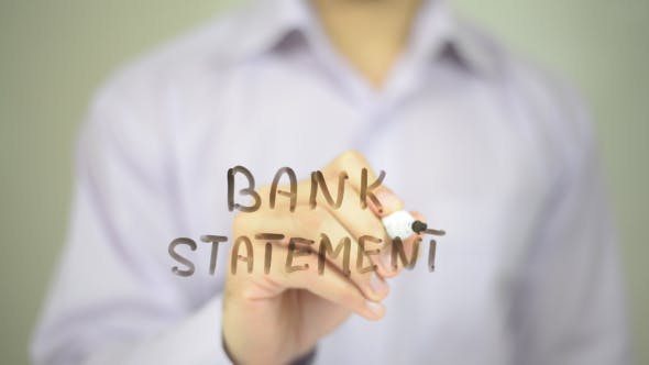 Thumbnail for Bank Statement