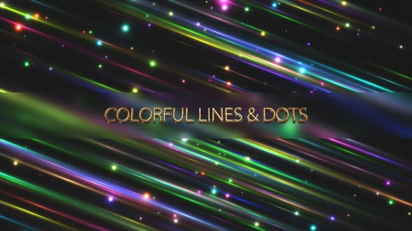 Thumbnail for Colorful Lines & Dots
