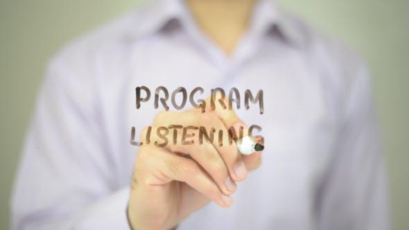 Program Listening