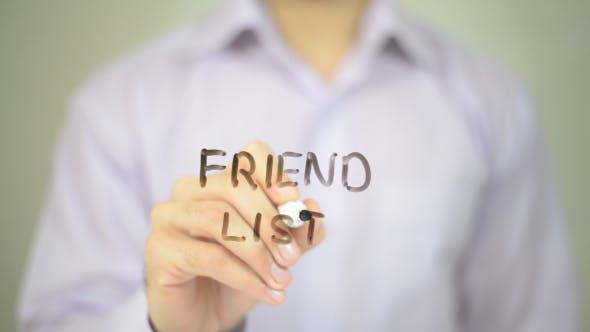 Thumbnail for Friend List