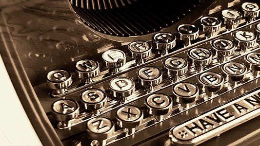 Cover Image for Vintage Typewriter 3