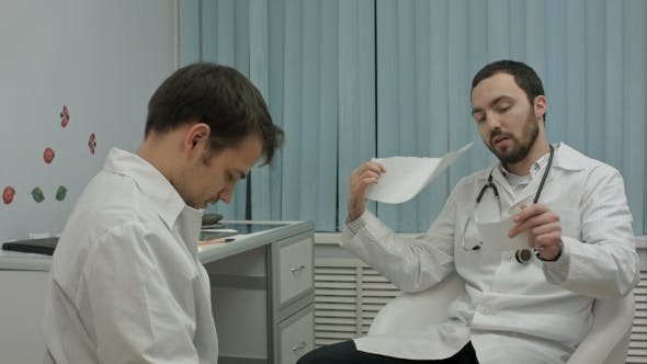 Thumbnail for Mentor Doctor Checks Work Of Medical Researchs Of Intern, Criticizes Him Work And Tears Paper