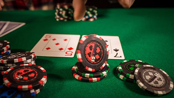 Thumbnail for Poker Player Placing A Bet