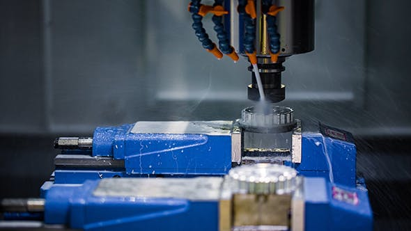 Cover Image for Metalworking CNC Milling Machine